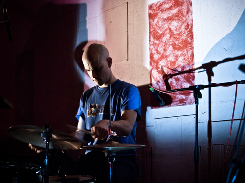 Chris Corsano by Nathan Gibson