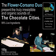 Cover of The Chocolate Cities CDR